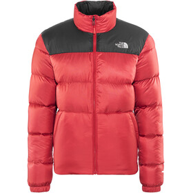 The North Face Nuptse III Jacket Men Rage Red/TNF Black